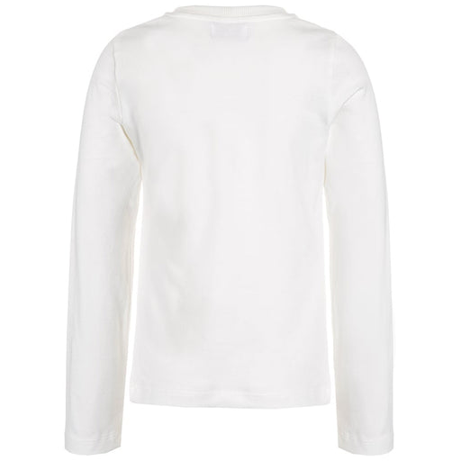 MOSCHINO Girls Ivory Long-Sleeve Top at BOYS & GIRLS ONLINE