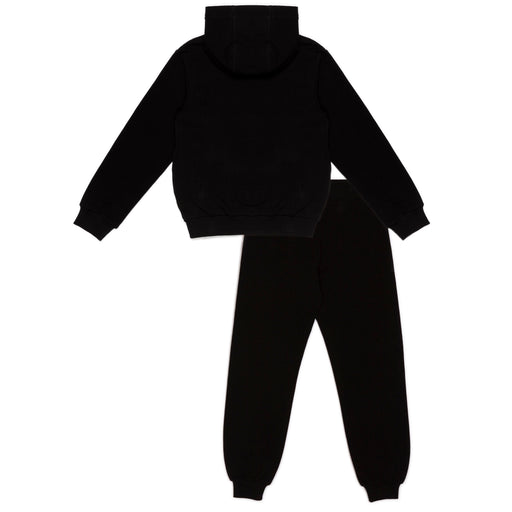 Moschino Black Cotton Teddy Logo Tracksuit - Kids clothes online | BOYS & GIRLS ONLINE