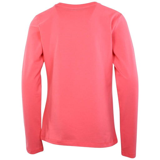 MOSCHINO Girls Coral Logo Heart Top at BOYS & GIRLS ONLINE