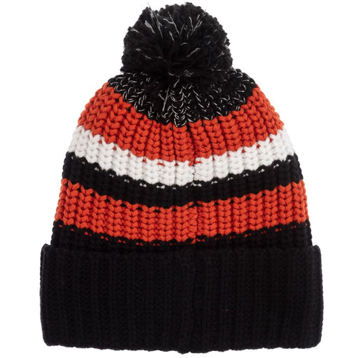 Paul Smith Black and Orange Knitted Hat - Kids clothes online | BOYS & GIRLS ONLINE
