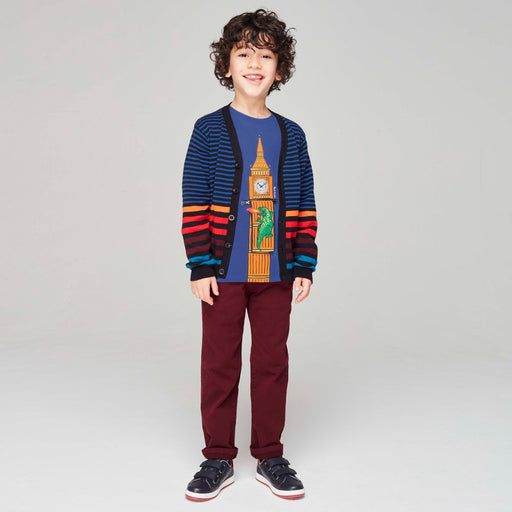 Paul Smith Boys Blue Cotton Top - Kids clothes online | BOYS & GIRLS ONLINE