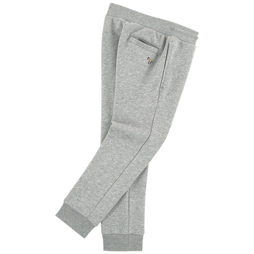 Boys Marl Grey Cotton Joggers