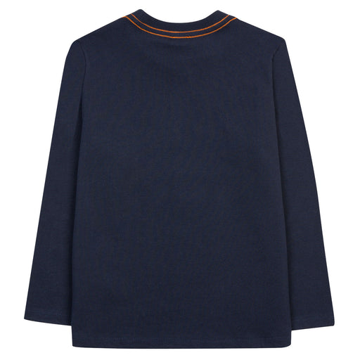 Paul Smith Boys Navy Blue Cotton Jersey Top - Kids clothes online | BOYS & GIRLS ONLINE