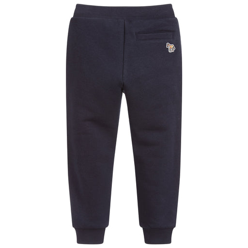 Paul Smith Boys Navy Blue Cotton Joggers - Kids clothes online | BOYS & GIRLS ONLINE