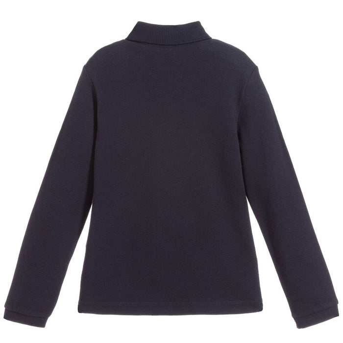 Paul Smith Boys Navy Blue Piqué Polo Shirt - Kids clothes online | BOYS & GIRLS ONLINE