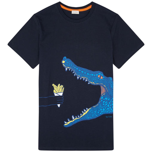 Boys Navy Blue TALEB T-Shirt