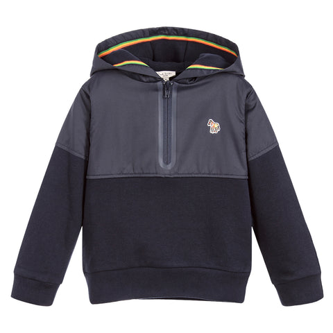Boys Navy PULSE Hooded Sweatshirt