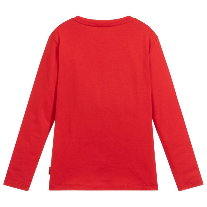 Paul Smith Boys Red Cotton Top - Kids clothes online | BOYS & GIRLS ONLINE