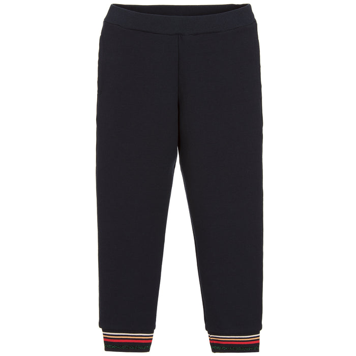 Paul Smith Girls Navy Blue POSY Joggers at BOYS & GIRLS ONLINE