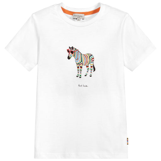 White TYBALT Cotton T-Shirt