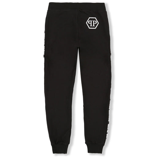 Philipp Plein Black Jogging Trousers Statement - Kids clothes online | BOYS & GIRLS ONLINE