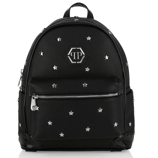 Philipp Plein Girls Backpack with Star-Shaped Studs - Kids clothes online | BOYS & GIRLS ONLINE
