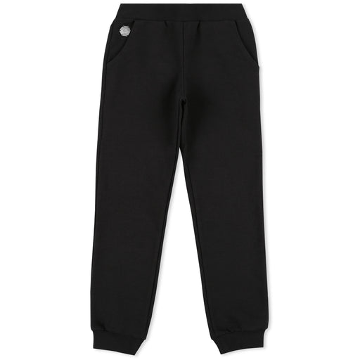 Girls Black Jogging Trousers Plein Addict