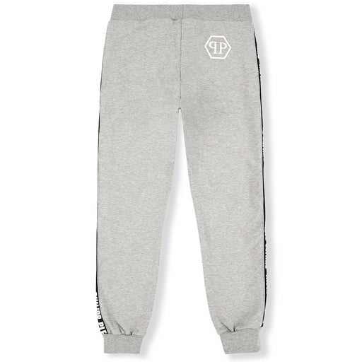 Philipp Plein - Grey Jogging Trousers Statement - Kids clothing at BOYS & GIRLS ONLINE