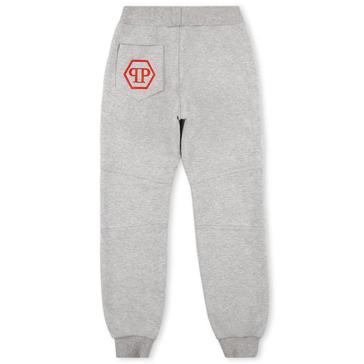 Philipp Plein Grey Jogging Trousers Statement - Kids clothes online | BOYS & GIRLS ONLINE