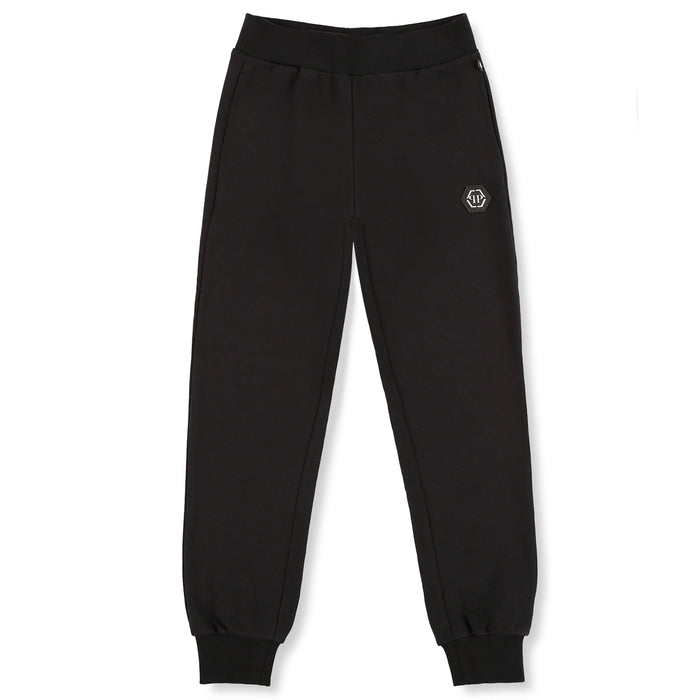 Boys Black Jogging Trousers Rock PP