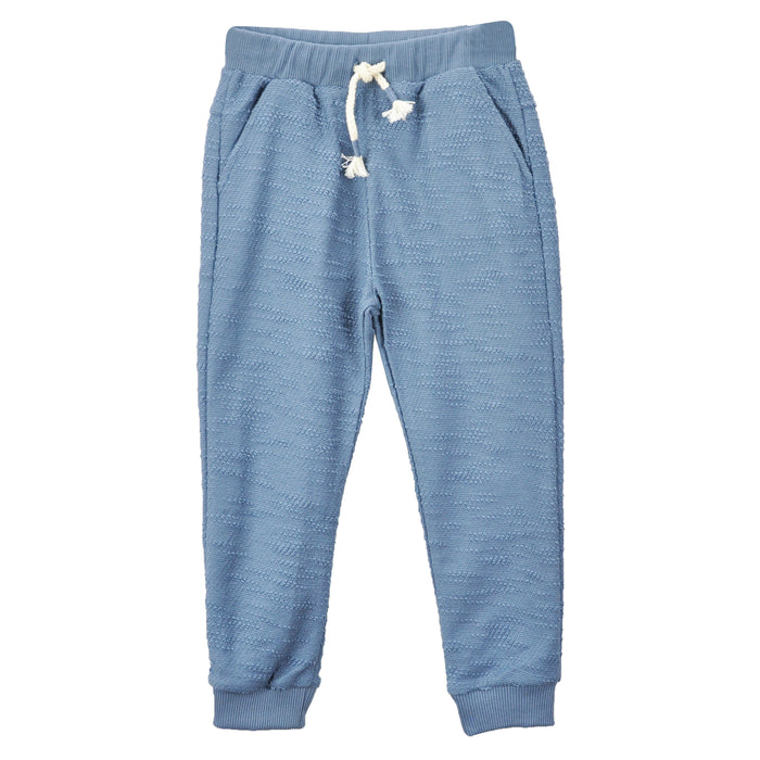 Play Up-Blue Fox Fleece Trousers-boysgirlsonline.com
