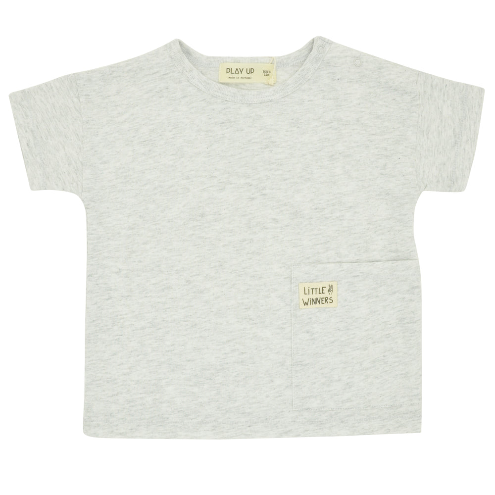 PLAY UP Front Pocket Cotton Baby Top at BOYS & GIRLS ONLINE