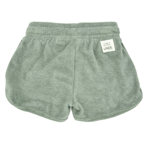 PLAY UP Girls Grey Terry Shorts at BOYS & GIRLS ONLINE
