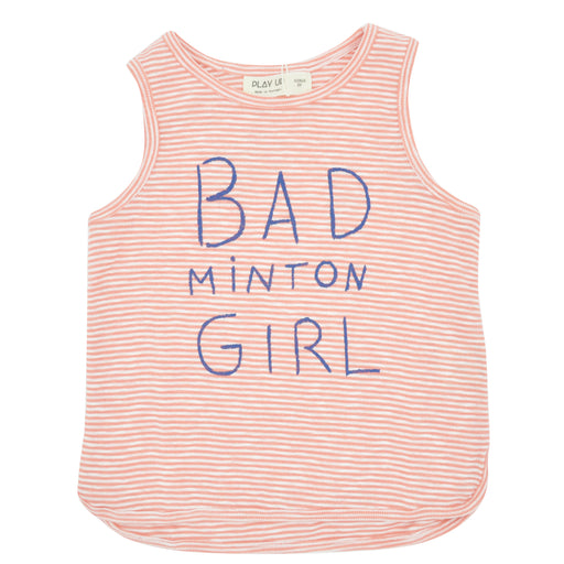 PLAY UP Girls Striped Rib Tank Top at BOYS & GIRLS ONLINE