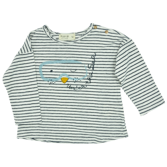 PLAY UP Jersey Striped T-Shirt at BOYS & GIRLS ONLINE