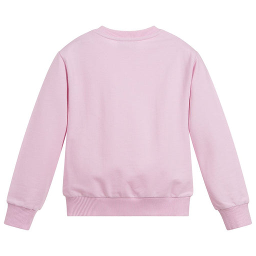 Versace Girls Pink Medusa Sweatshirt - Kids clothes online | BOYS & GIRLS ONLINE
