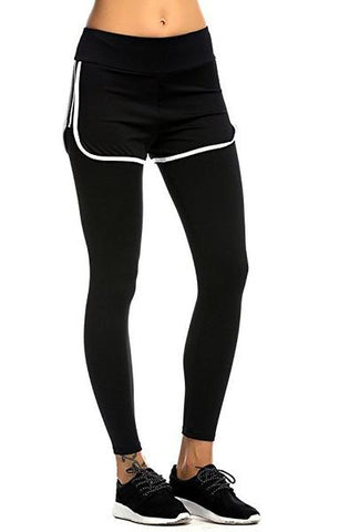 legging 2 in 1 black