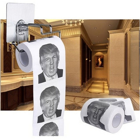 Paper roll Donald Trump