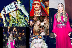 Did you know that Madonna has celebrated her birthday in Marrakesh ?