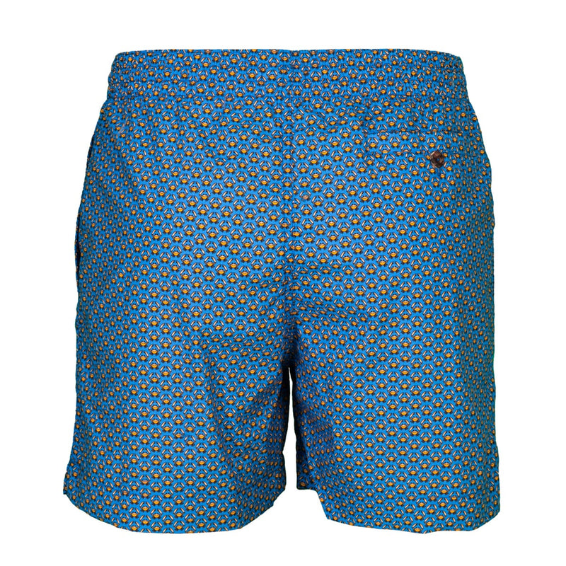 Caldelari Men Swimwear - Alfie the Crab Blue - Handmade in Italy