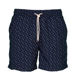 Caldelari Men Swimwear - Frank the Mussel Navy Blue - Handmade in Italy