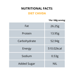 Diet Chivda - With Peanuts (Pouch)