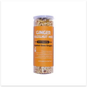 Ginger Hazelnut Mix - with Pineapple
