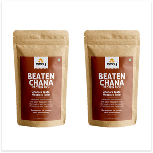 Beaten Chana - Protein Rich