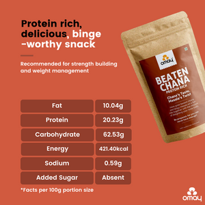 Beaten Chana - Protein Rich - 400 gms Pouch (2 Units)