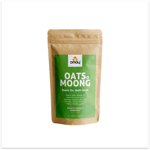 Oats & Moong Mix - 400 gms Pouch