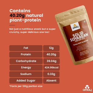 Solid Soyabean - Protein Rich - 400 gms Pouch (2 units)