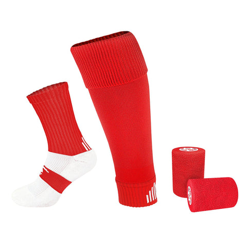 PST SOCK TAPING KIT - RED (STR. UK 7-11)