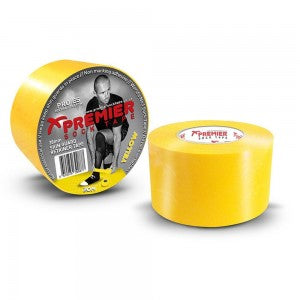 PST SHIN GUARD RETAINER TAPE - YELLOW (38mm x 20m) - 1 rl.