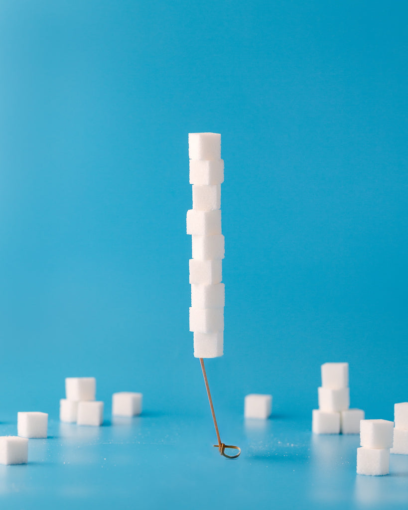 Sugar content can cause hot flashes