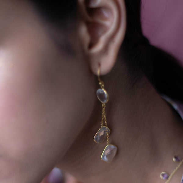 Crystal Pair Earrings