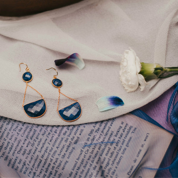 Gem Balanced Earrings
