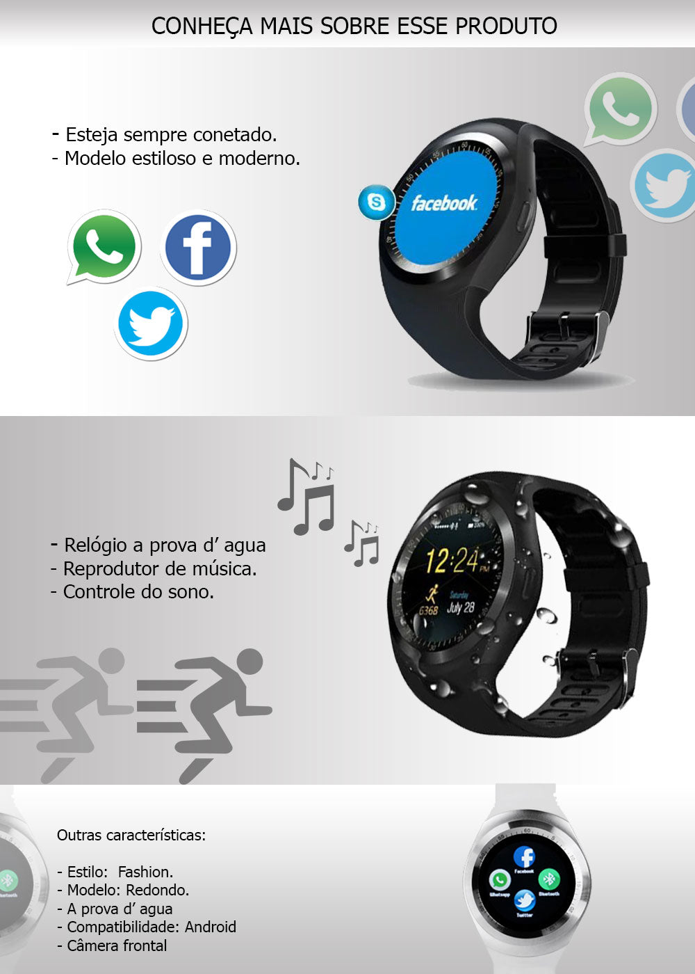 Smartwatch CamisetasImportadas