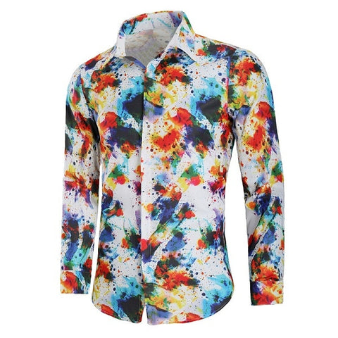 Camisa Fashion Casual Estampada