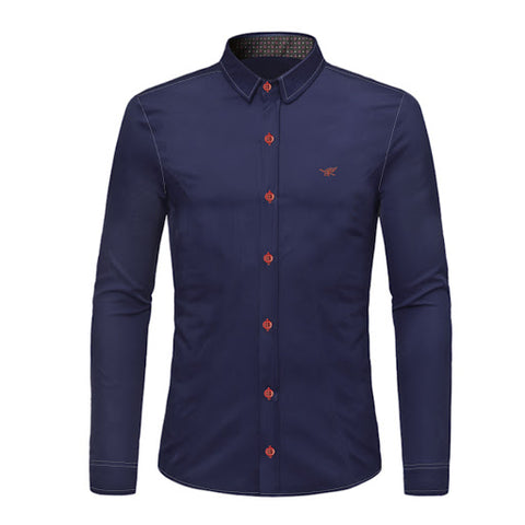 Camisa Social Elegante Fashion Slim Fit