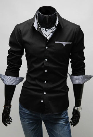 Camisa Casual - Estilo Luxury Slim Fit - Em 3 Cores