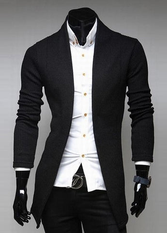 Cardigan Moderno Slim Fit Elegante - em 3 Colores