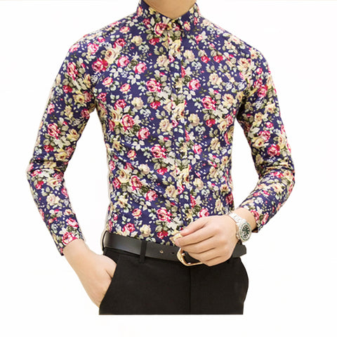 Camisa Casual Floral