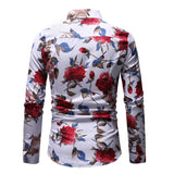 Camisa Casual Floral Havaiana