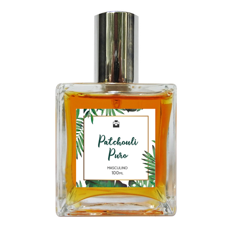 Perfume Masculino Natural Patchouli Puro 100ml